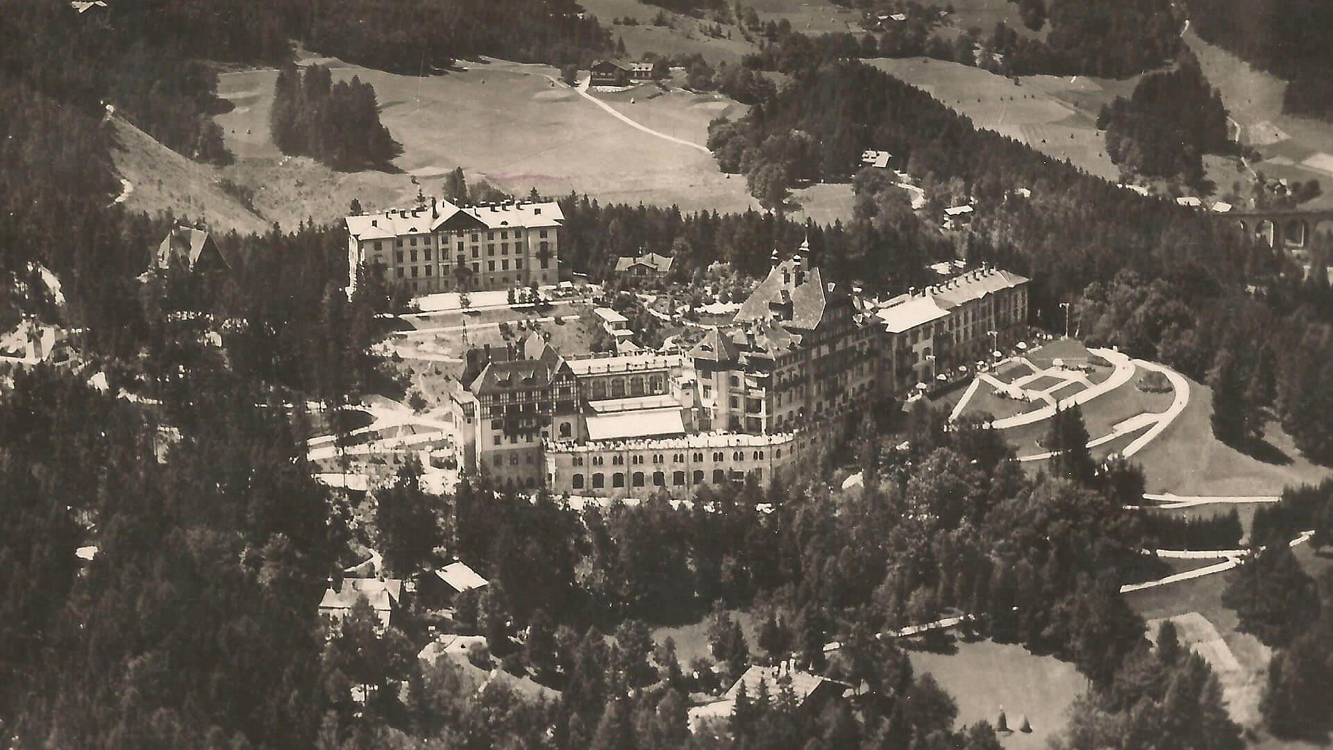 Luftaufnahme anno 1937